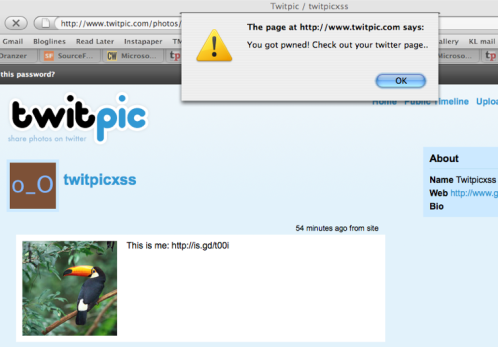 TwitPwn: MoTB #06: Multiple vulnerabilities in TwitPic